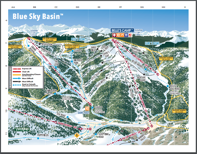Vail Skiing & Snowboarding Resort Guide | evo