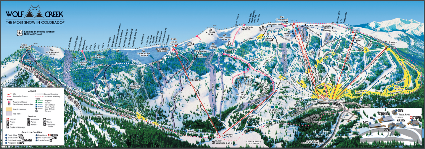 Wolf Creek Ski and Snowboard Area