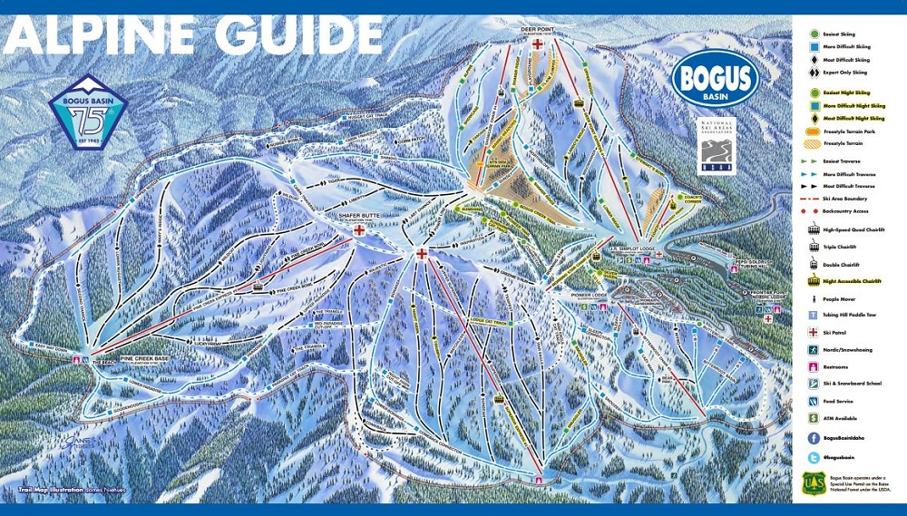 Bogus Basin Ski and Snowboard Area