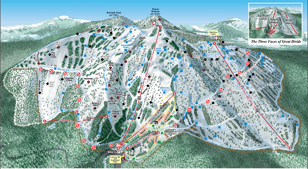 Great Divide Ski and Snowboard Area