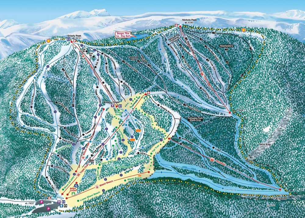 Red Lodge Ski and Snowboard Area