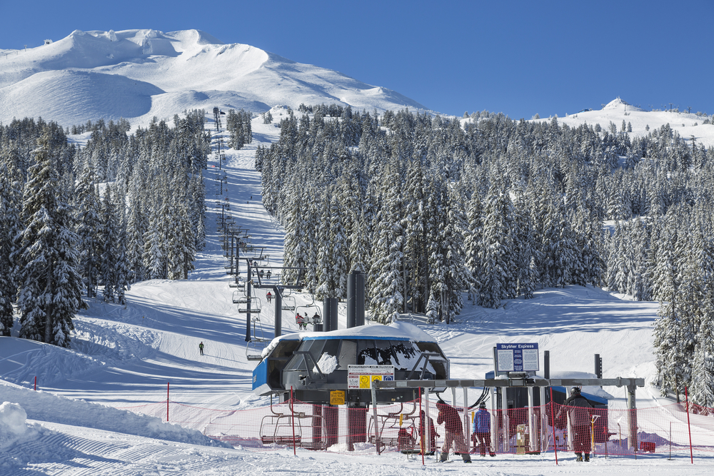 Mount Bachelor Ski and Snowboard Area