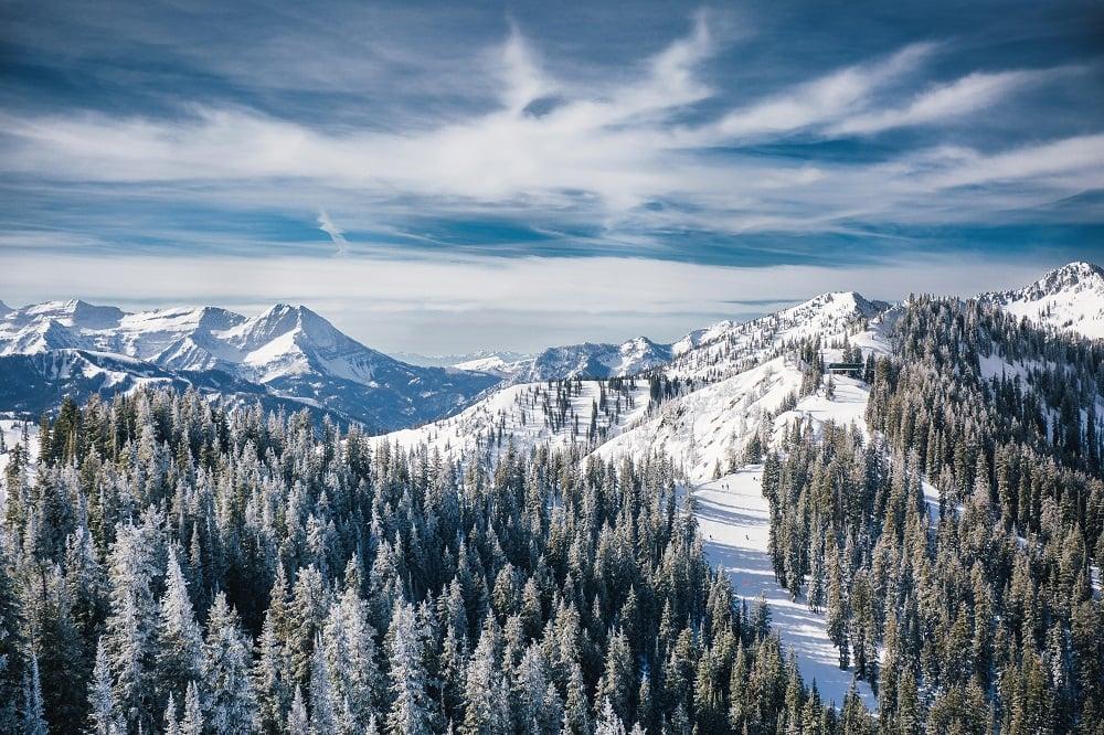 Brighton Utah Map.Brighton Skiing Snowboarding Resort Guide Evo