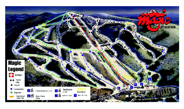 The Best Ski Snowboard Resorts In Vermont Evo - Western us ski resorts map