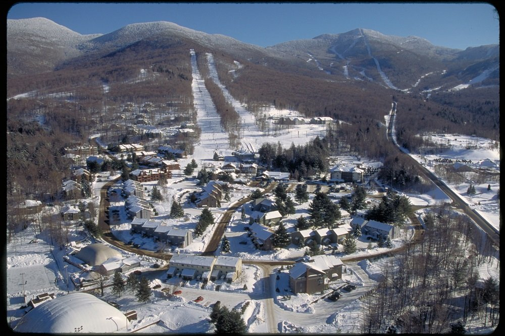 Smugglers Notch ski and snowboard area