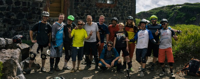 End of the day smiles from our first Mountain Bike adventure for evoTrip Chile in December 2015. Another first for this year, we're already looking forward to next year's trip and adventures.